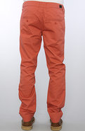 Men's The Slim Chino Pants in Red, Pants