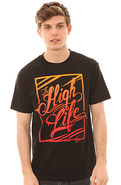 Men&#39;s The High Life Tee in Black, T-shirts