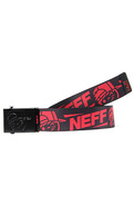 Men's The Kenni Belt in Black & Red, Belts