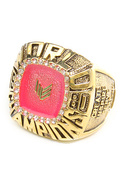 Women's The Championship Ring in Pink Stone, Jewel