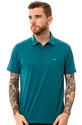 Men's The Sure Thing Polo in Oasis Blue, Polos