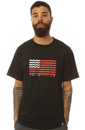 Men's The Crooked Tee in Black, T-shirts