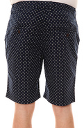 Men's The Tobago Shorts in Navy and White, Shorts