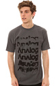 Men's The Sixer Tee in Charcoal, T-shirts
