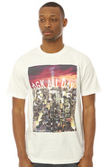 Men's The All Day Nitelife Tee in White, T-shirts