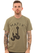 Men's The Wesseled Tee in Light Olive, T-shirts