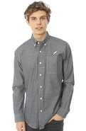 Men's The Beale Buttondown Shirt in Navy, Buttondo