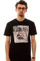 Men&#39;s The On Heat Tee in Black, T-shirts