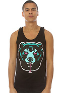 Men's The Death Adders Tank in Black, Tank Tops