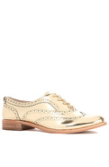 Women's The Jerome Shoe in Gold, Shoes
