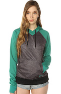 Women's The Heron Hoody in Tidal Bore True Black,