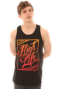 Men&#39;s The High Life Tank in Black, Tank Tops