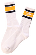 Men's The Cooper Socks in Navy and Mustard, Socks