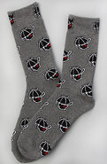 Men&#39;s The Jack Socks in Heather Grey, Socks