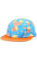Men's The Pineapple Juice Camper Cap in Orange, Ha