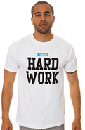 Men's The Hard Body Tee in White, T-shirts