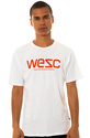 Men&#39;s The WeSC Tee in White, T-shirts