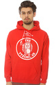 Men's The Wave Flags Hoodie in Red, Sweatshirts