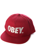 Men's The City Hat in Burgundy, Hats