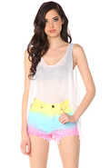 Women's The Guess What Shorts in Cotton Candy, Sho