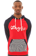 Men's The LRG LE Sport Hoody in Navy, Sweatshirts