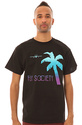 Men&#39;s The Escape Tee in Black, T-shirts