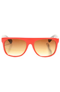Men&#39;s The Straight Shades in Red, Sunglasses