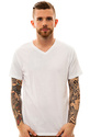 Men's The 3-Pack V-Neck Tees in Optic White, Basic