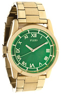 Men&#39;s The Moment Watch in Gold &amp; Emerald, Watches
