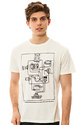 Men&#39;s The Wired Up Tee in Scour, T-shirts