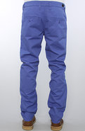 Men's The Slim Chino Pants in Azur Blue, Pants