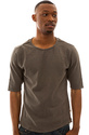Men's The Jimtown Tee in Gunmetal, Basic T-shirts