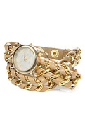 Women&#39;s The Great Time Watch in Beige, Watches
