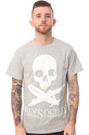 Men&#39;s The Planes &amp; Bones Tee in Heather Gray, T-sh