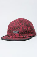 Men's The Camper 5 Panel Hat in Bordeaux, Hats