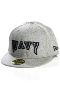 Men's The Wavy Fitted Hat in Heather Grey, Hats