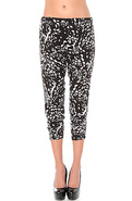 Women's The Mimi Sheering Pant in Black Leopard ,