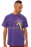 Men&#39;s The Escape Tee in Purple, T-shirts