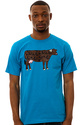 Men&#39;s The Well Branded Tee in Turquoise, T-shirts