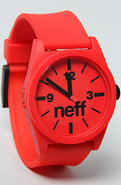 Unisex&#39;s The Daily Watch in Red, Watches