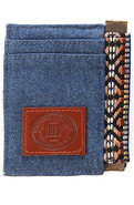 Men's The Yuma ID Wallet in Navy, Wallets