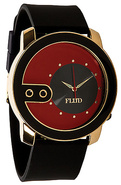 Men&#39;s The Exchange Watch in Gold, Red, &amp; Black, Wa