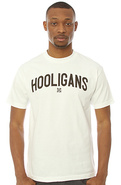 Men's The Hooligans Tee in White, T-shirts