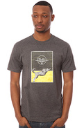 Men's The Strike First Tee in Charcoal Heather, T-