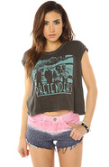 Women's The Embroidered Tie Die Shorts, Shorts