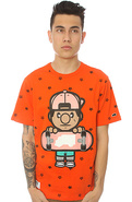 Men's The Allover Tee in Tangerine Tango, T-shirts