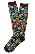 Men's The Crew High Tube Socks in Multi, Socks