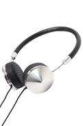 Women's The Layla Headphone in Silver & Black, Hea