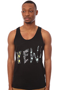 Men's The Yew Tank Top in Black, Tank Tops