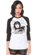 Women&#39;s The Hit &amp; Run Baseball Raglan, T-shirts